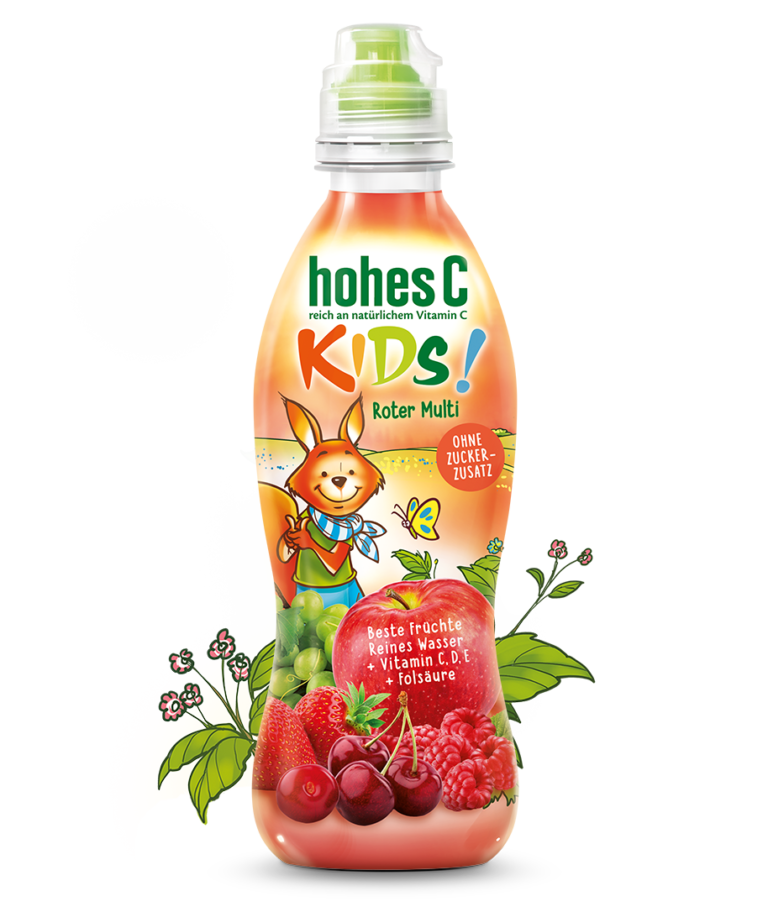 Hohes C Kids Roter Multi