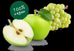 Äpfel und Trauben