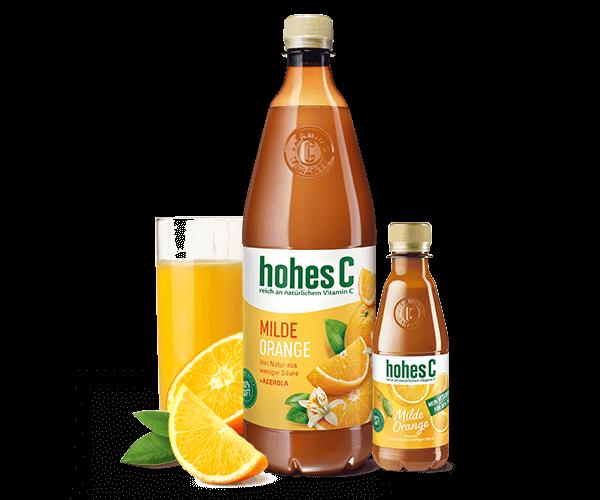 Hohes C Milde Orange + Vitamin C